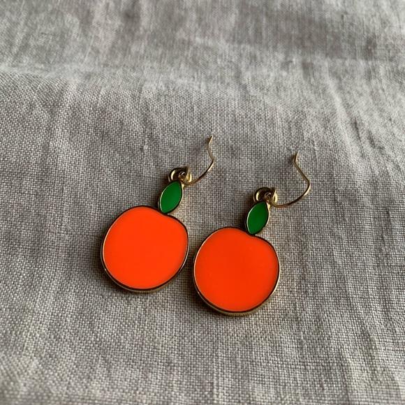 kate spade Jewelry | Apple Earrings